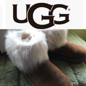 BNWOT Ugg Short with Fur